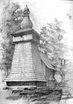 Drawing Architecture, Architectural Drawings, Wood Work, Perspective, Sketches, Woodworking, Graphics, Illustrations, Artwork