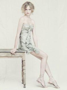 Alberta Ferretti Spring 2011 Campaign | Sasha Pivovarova by Paolo Roversi | Fashion Gone Rogue: The Latest in Editorials and Campaigns