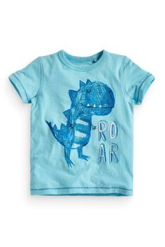 Buy Blue Dino Printed T-Shirt (3mths-6yrs) online today at Next: Israel