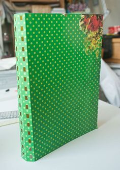 Bind loose paper into book