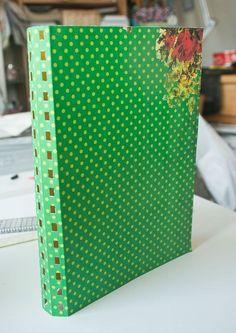 Tutorial | Spiral Bound Journal | Crafts and Creative Living