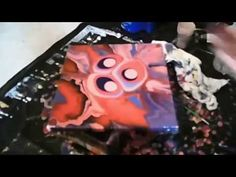 Up from Above - Liquid Abstract - Modern Art by Eric Siebenthal - YouTube