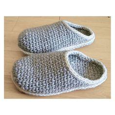 Ravelry: Crochet-Knit Slipper-Clogs pattern by Sophie and Me-Ingunn Santini