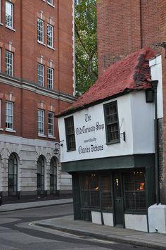 Old Curiousity Shop, Lincon Inn Fields, London