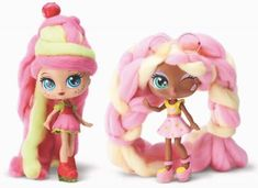 Candylocks dolls are the ones with the really long hair that looks like candy. The perfect gift for girls New Kids Toys, Toys For Girls, Lol Dolls, Cute Dolls, My Little Pony Clothes, Cotton Candy Cone, Girls Nail Designs, Lol Doll Cake, Just Like Candy
