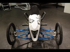 Tilting Vehicles Blog: Irukan Electric Luge Trike