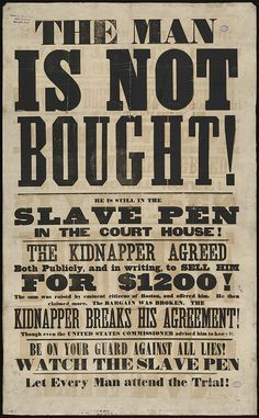 Image Result For American Wood Type Posters Black History Facts Wood Type Poster Slavery