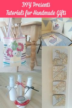 DIY Presents and tutorials for handmade gifts