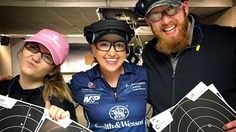 Girls can shoot big calibers too! Watch it unfold on Smith & Wesson's NRA Women Love at First Shot