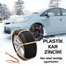 Son derece pratik bir şekilde uygulanabilen klipsli pratik kar zinciri sayesinde, karlı ve buzlu yollarda güvenli bir şekilde yolunuza devam edin. Sepetimden Al, Aracına Tak!