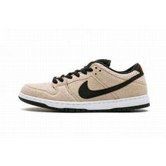 wholesale dealer 709a3 dbde2 Achat Digne Homme Nike Dunk SB Confortable Blanc Noir Marron   PasCherNikeDunkSB