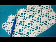 Learn To Crochet Easy Beautiful Blanket Crochet Skirt Pattern, Crochet Flower Patterns, Crochet Diagram, Freeform Crochet, Crochet Designs, Crochet Lace, Crochet Stitches, Baby Booties Knitting Pattern, Baby Knitting Patterns