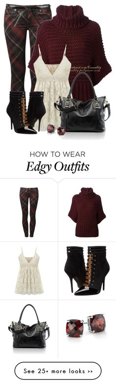 """""""Printed Pants Edgy Chic"""" by casuality on Polyvore"""