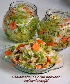 Chalamade, den eviga favoritingrediensen: ca. Croatian Recipes, Hungarian Recipes, Hungarian Cuisine, Good Food, Yummy Food, Cooking Recipes, Healthy Recipes, Recipes From Heaven, Summer Salads