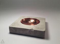 Concrete Ash Catcher Alexis Jesup design