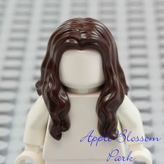 Emmet Movie Minifigure Short Combed Head Gear NEW Lego Boy Minifig BROWN HAIR