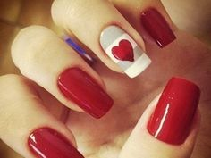 Red nail art designs and Ideas have been a part of history and were used by people earlier to determine the social status of the people. Something more