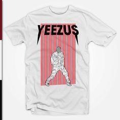 Yeezus Gigs Shirt Kanye West T-Shirt Yeezus Tour merchandise