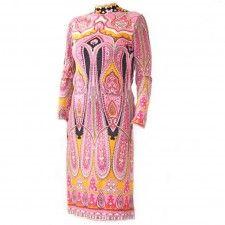 Vintage designer jurk Leonard Paris 100% wol