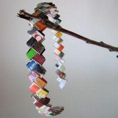 Colorful Reclaimed Magazine Headband - Eco Happy
