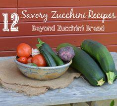 12 Savory Zucchini Recipes - Beyond Zucchini bread
