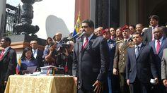 ¿Por culpa de la oposición? Maduro dice que en nueve meses la AN ha dejado de sesionar 25 veces - http://www.notiexpresscolor.com/2016/10/14/por-culpa-de-la-oposicion-maduro-dice-que-en-nueve-meses-la-an-ha-dejado-de-sesionar-25-veces/