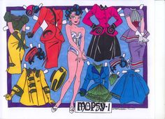 mopsy modes paper dolls | MOPSY-1 A PAPER DOLL | Marges8's Blog