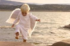 I wonder what color hair my son would have had. Junior got his angel wings 12/24/80. I like this picture - I picture him playing like this in Heaven. - Debbi