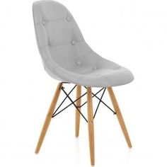 Cushioned Eames Style DSW Chair ...