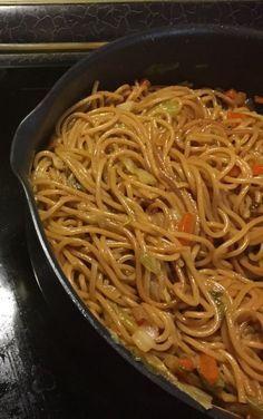 Kínai sült tészta Veggie Recipes, Baby Food Recipes, Pasta Recipes, Keto Recipes, Food Baby, Low Carb Keto, Chinese Food, Pasta Dishes, Healthy Life