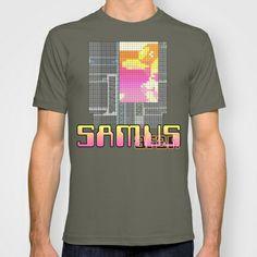 #Metroid #Nintendo #NES #Samus #videogames #90s #80s #tshirt #clothes #pink #orange #1990s #1980s #retro #oldschool #throwback
