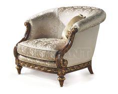 Кресло GALEANI слоновая кость Angelo Cappellini 30194 , каталог мягкой мебели: фото, заказ, доставка - ABITANT , Москва
