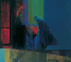 Kenneth Blom · DISSE TO · 2002 · 140 x 160 cm