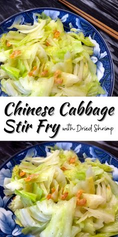Chinese Cabbage Stir Fry with Dried Shrimp • Oh Snap! Let's Eat!