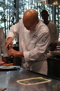 Masa Takayama at Tetsu Teppan Grill