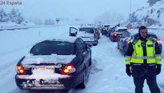 Autopistas activa dispositivo de seguridad en AP-6, AP-51 y AP-61 por nieve