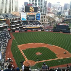 Petco Park - San Diego, CAParking is tough, but a beautiful stadium.