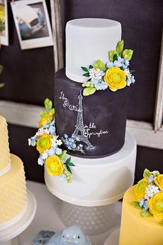 Hace unos días hablamos de París como tema de fiesta, una petición de varios lectores, ahora nos toca hacer el recorrido por algunas de las mesas de dulces y pasteles que se han creado inspirados …