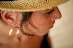 Gold Plated Earrings by Junam Jewelry.  http://www.etsy.com/shop/JunamJewelry