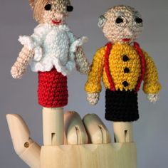 Haakpatronen Opa en Oma Blom - Margot Oldenbeuving
