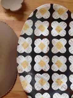 Ceramic Tableware, Ceramic Clay, Ceramic Bowls, Pottery Plates, Ceramic Pottery, Pottery Art, Pottery Painting, Ceramic Painting, Japanese Pottery