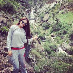 ¡La Chinita Jazmín Pinedo disfrutando de la naturaleza y respirando aire puro! #EEG #EstoesGuerra