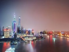 Luca Campigotto's night-time photographs show some of the world's most iconic landmarks glowing but virtually empty, adding a layer of intrigue to familiar cityscapes Night City, Nocturne, City Streets, City Lights, The Guardian, Shanghai, Fine Art Photography, New York Skyline, Sunrise