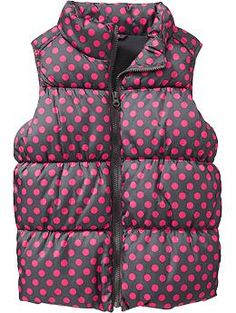 Girls Frost Free Vests (Old Navy 4+)