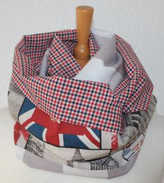 Unisex Loop/ Schal/Karos/ London/ UK/ von SongbirdFashion auf Etsy