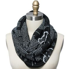 The Raven by Edgar Allan Poe Book Scarf - Literary Scarf - Storiarts