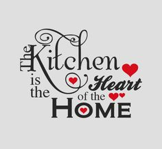 Give your kitchen not only good food, but some real style and charm with this awesome kitchen orientated wall decal. A quote many are familiar with but that doesn't dampen it's strong meaning. Don't let your kitchen go unnoticed  #kitchen #Decal #Quote #home #design #wallart homedecals.co