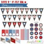Free Fourth of July Prints