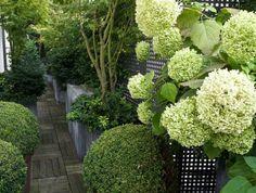 Le jardin paysager - tendance moderne de jardinage