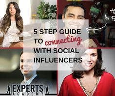 Influencers can help drive traffic to your site and increase your social media exposure. Here's a 5 Step Guide to Connecting With Social Influencers. Email Marketing Strategy, Affiliate Marketing, Blogging For Beginners, Make Money Blogging, Mom Blogs, Step Guide, Connection, Social Media, Hacks